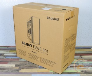 be quiet! Silent Base 801 Window Orange