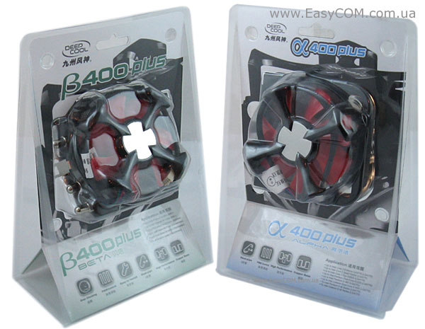 DeepCool Alpha 400 Plus & Beta 400 Plus