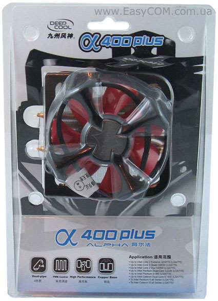 DeepCool Alpha 400 Plus