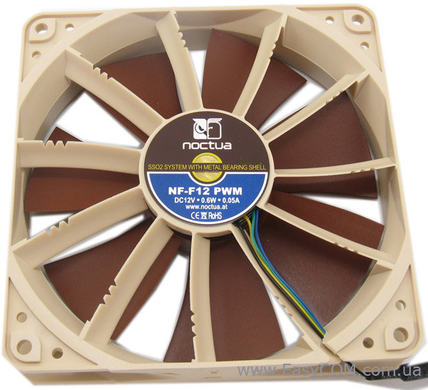 Noctua NF-F12 PWM Focused Flow