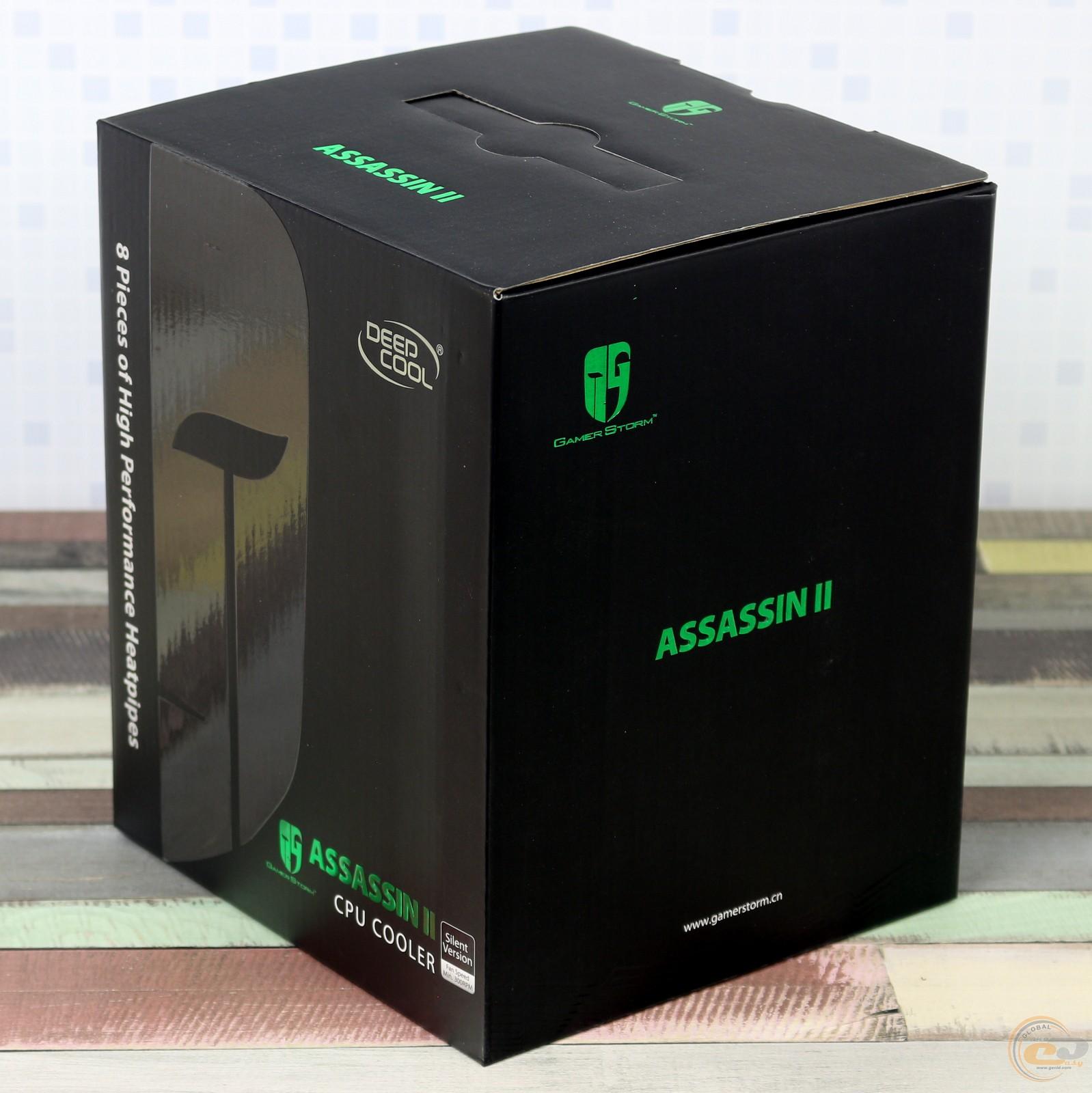 Кулер Deepcool ASSASSIN II Soket 775/1150/1155/1156/1356/1366/2011/AM2/AM2+/AM3/AM3+/FM1/FM2/FM2+