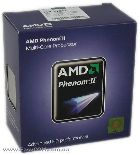 AMD Phenom II X4 850