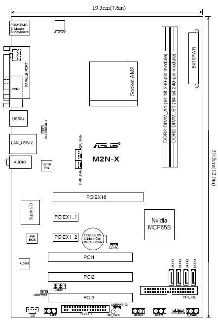 M2n e схема - Asus m2n-e