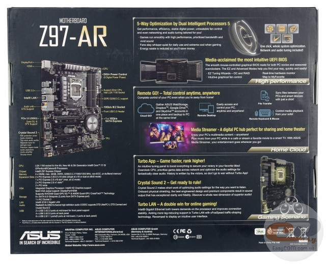 ASUS Z97-AR