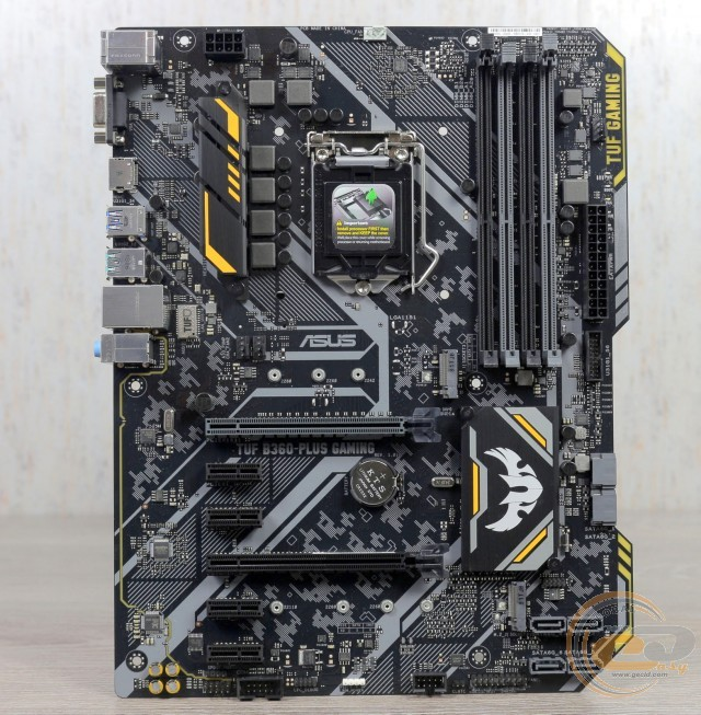ASUS TUF B360-PLUS GAMING