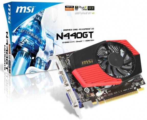 MSI GeForce GT 440