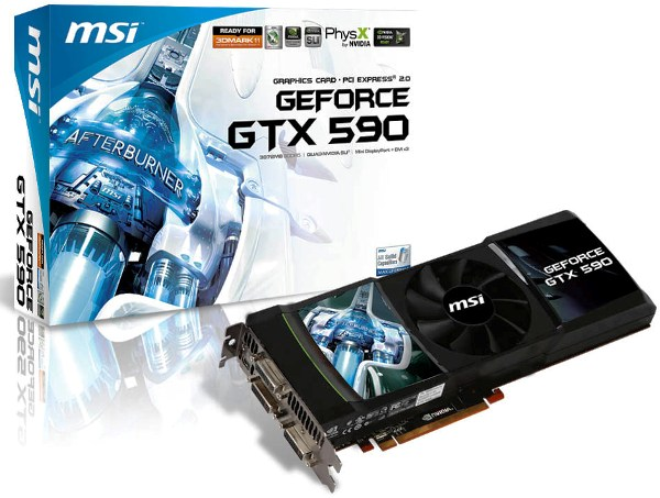 MSI GeForce GTX 590