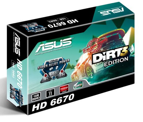 ASUS HD 6670 (EAH6670/G/DI/1GD3)