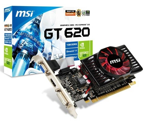 MSI GeForce GT620 (N620GT-MD1GD3/LP)