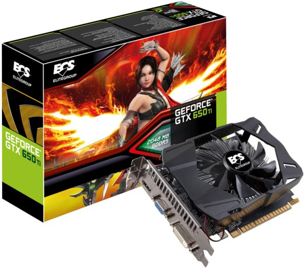 ECS GeForce GTX 650 Ti