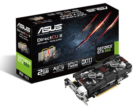 ASUS GTX660-DC2PH-2GD5