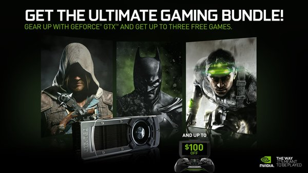 GeForce GTX Holiday Bundle