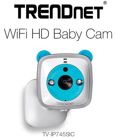 TRENDnet WiFi HD Baby Cam