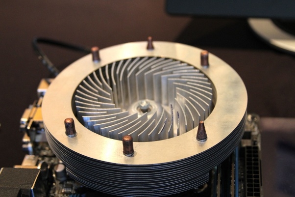 CoolChip Kinetic Cooling