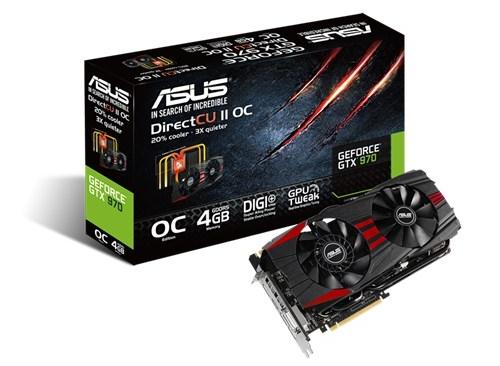 ASUS GeForce GTX 970 DirectCU II Black (GTX970-DC2OC-4GD5-BLACK) 2ace51e29184f