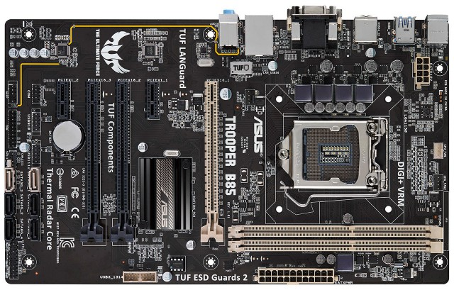 ASUS TUF Trooper B85