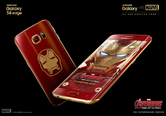 Samsung Galaxy S6 Еdge Iron Man Limited Edition