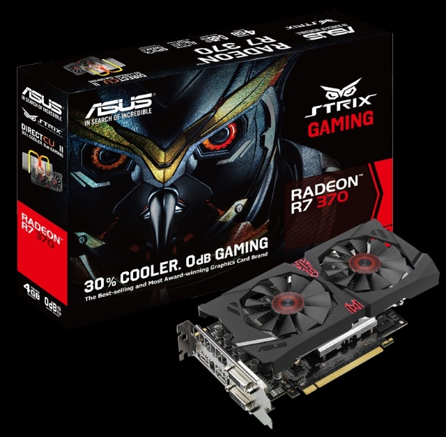 ASUS STRIX-R7370-DC2-2GD5-GAMING STRIX-R7370-DC2-4GD5-GAMING