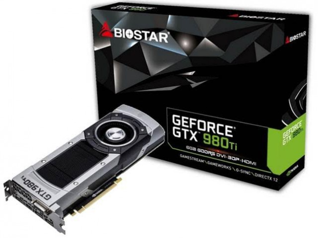 BIOSTAR GeForce GTX 980 Ti