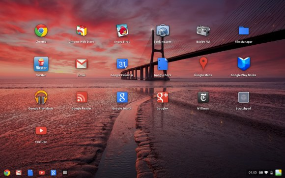 Google Chrome OS Android