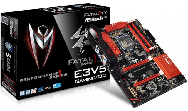 ASRock Fatal1ty E3V5 Performance Gaming/OC