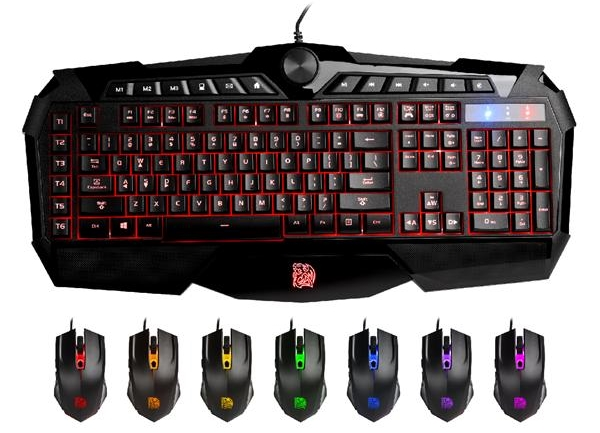 Tt eSPORTS CHALLENGER Prime RGB Membrane Gaming Combo