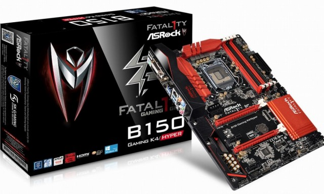 ASRock Fatal1ty H170 Performance Hyper Fatal1ty B150 Gaming K4 Hyper