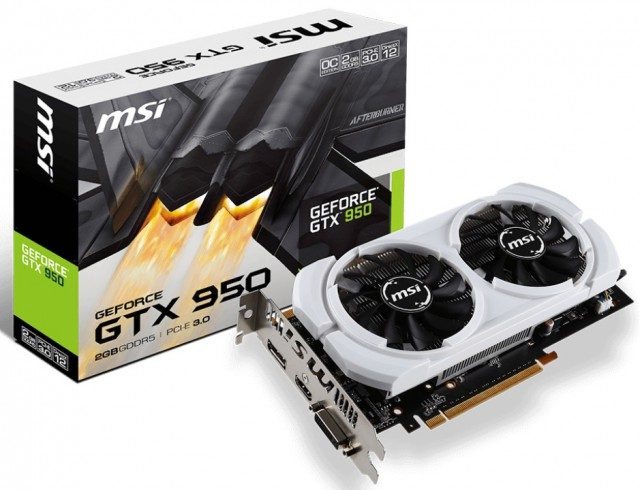 MSI GeForce GTX 950 2GD5 OCV1