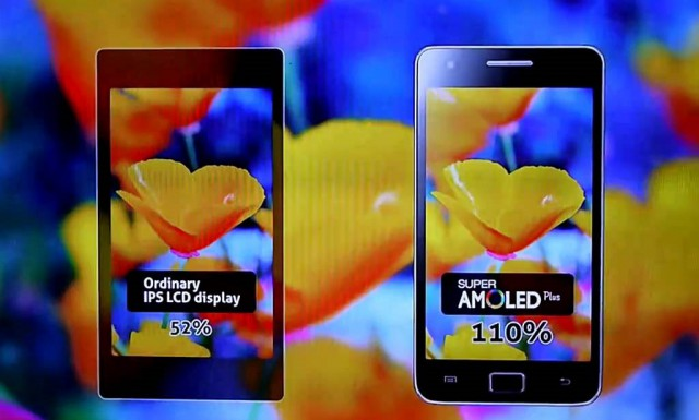 AMOLED vs LCD