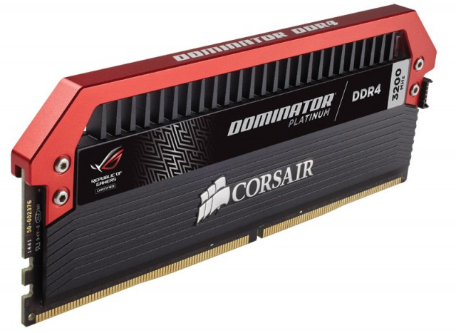 Corsair Dominator Platinum ROG Edition
