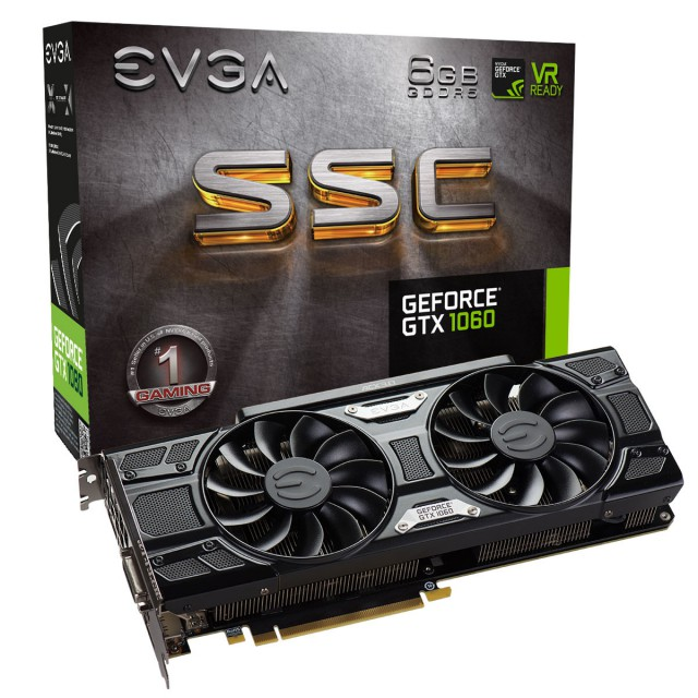 EVGA GeForce GTX 1060 SSC GAMING ACX 3.0