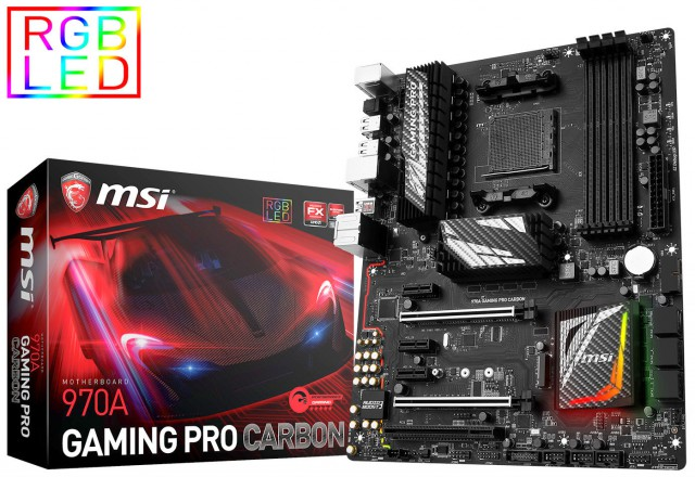 MSI 970A Gaming Pro Carbon