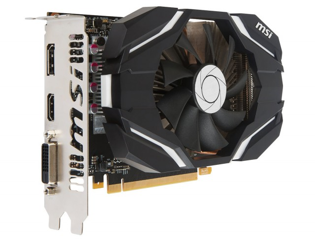 MSI GeForce GTX 1060 3GB OC V1