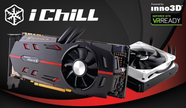 Inno3D GeForce GTX 1080 iChiLL BLACK