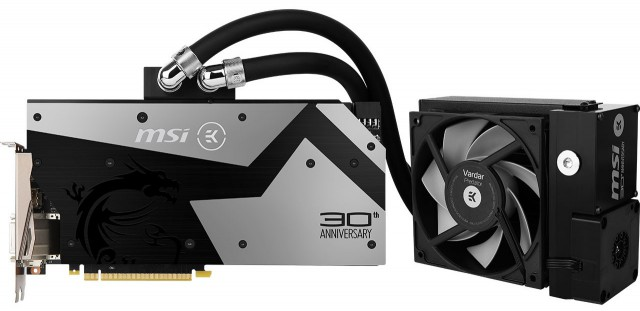MSI GeForce GTX 1080 30TH ANNIVERSARY