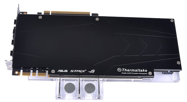 Thermaltake Pacific V-GTX 10 Series Transparent