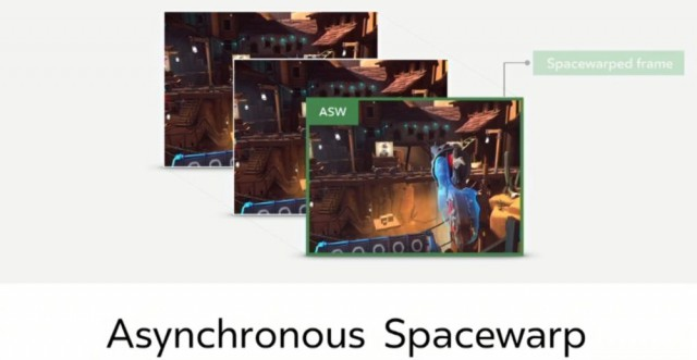Asynchronous Space Warp