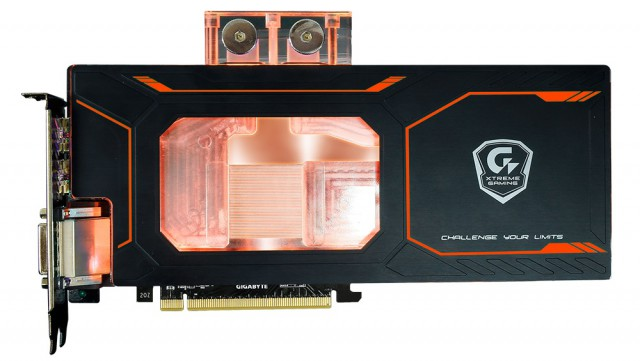 GIGABYTE GeForce GTX 1080 Xtreme Gaming WATERFORCE WB 8G