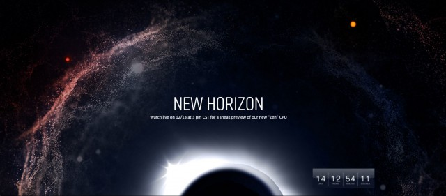 AMD New Horizon
