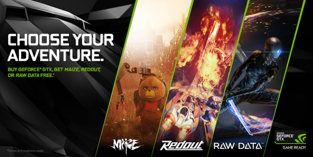 NVIDIA Choose your Adventure
