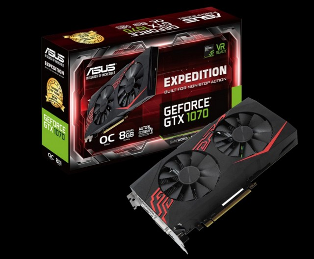 ASUS Expedition GeForce GTX 1070 OC