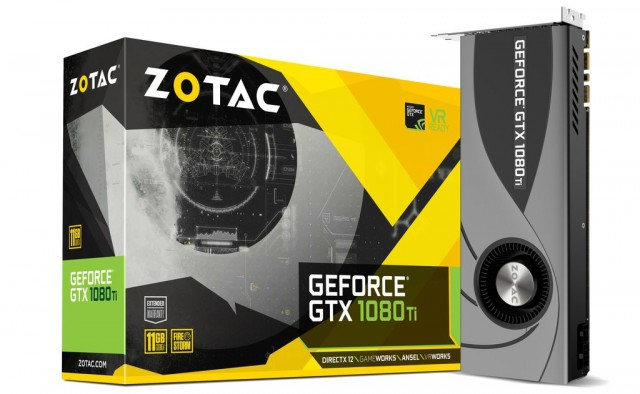 ZOTAC GeForce GTX 1080 Ti