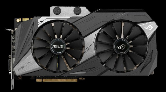 ROG Poseidon GeForce GTX 1080 Ti Platinum edition 11GB GDDR5X