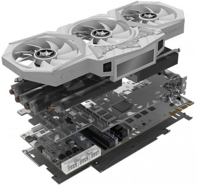 KFA2 GeForce GTX 1080 Ti The HOF 8 Pack Edition