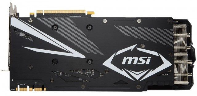 MSI GeForce GTX 1080 Ti DUKE 11G ОС