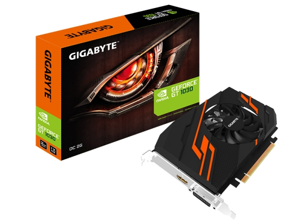 GIGABYTE GeForce GT 1030 OC 2G