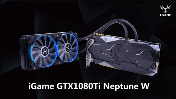 Colorful iGame GeForce GTX 1080 Ti Neptune W