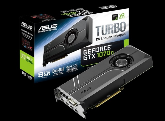 ASUS Turbo GeForce GTX 1070 Ti