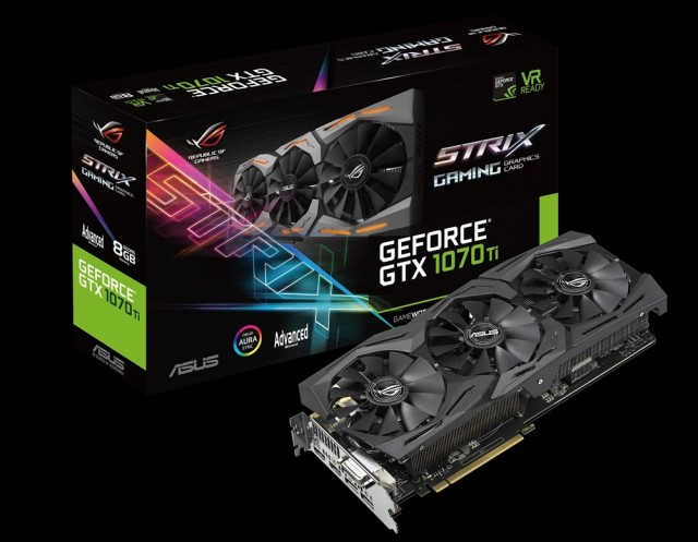 ROG Strix GeForce GTX 1070 Ti