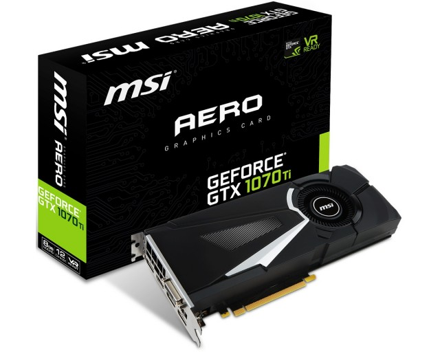 MSI GeForce GTX 1070 Ti AERO 8G